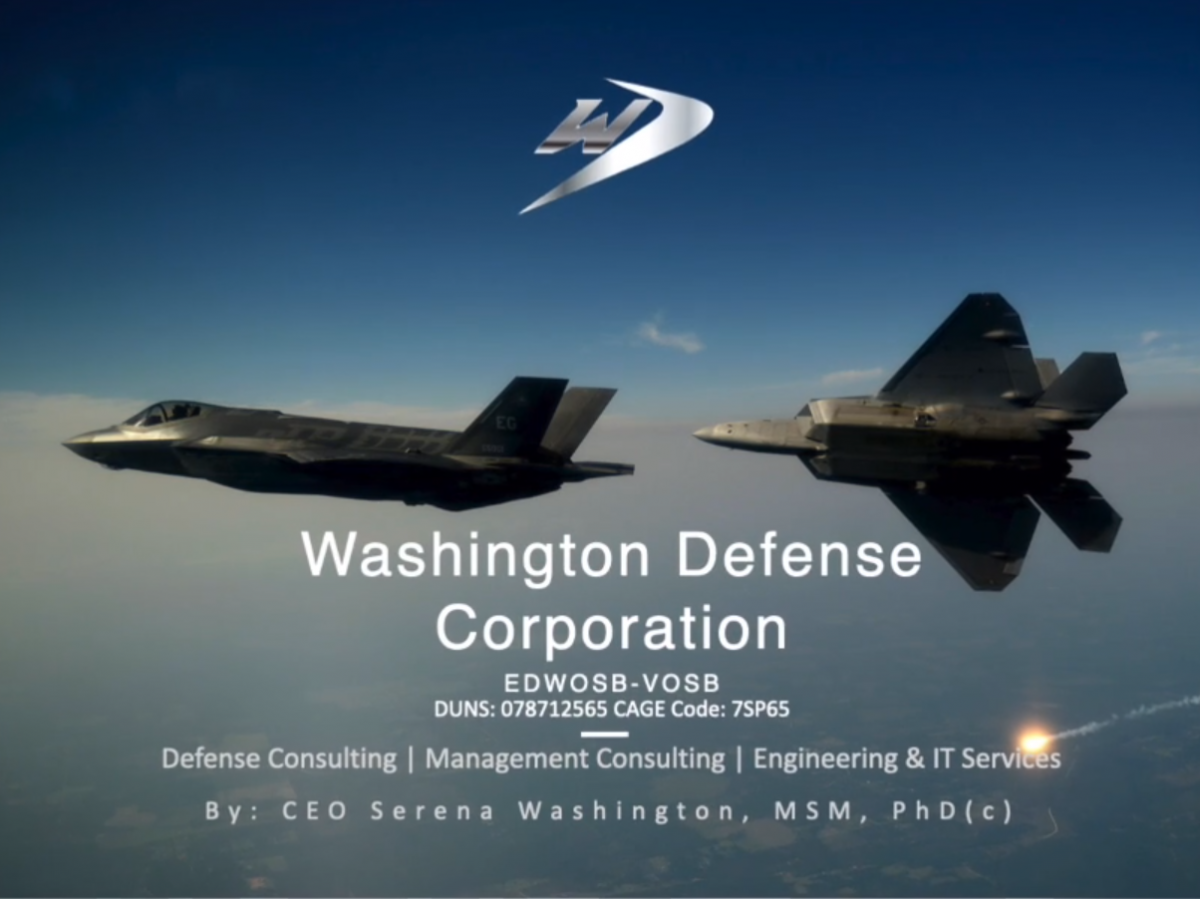 Interview with Washington Defense CEO